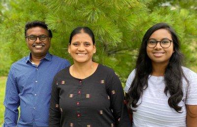 MSD Professor Dr. Renuka and family